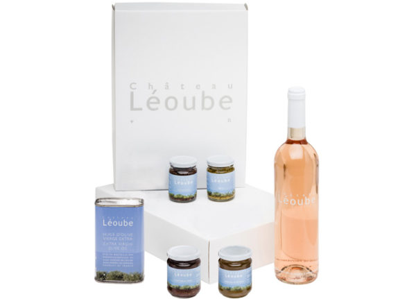 Gift box Soleil rose wine Provence