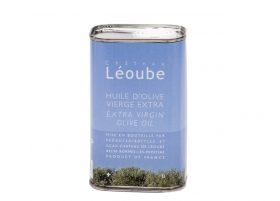 Azur extra virgin olive oil from Chateau Leoube in Provence