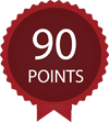 Score 90 points by Wine Enthusiast