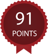 Note 91 points par Wine Enthusiast