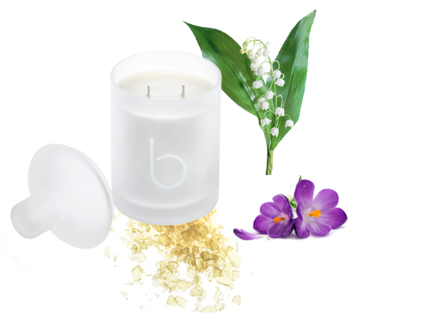 lily of the valley candle chateau leoube
